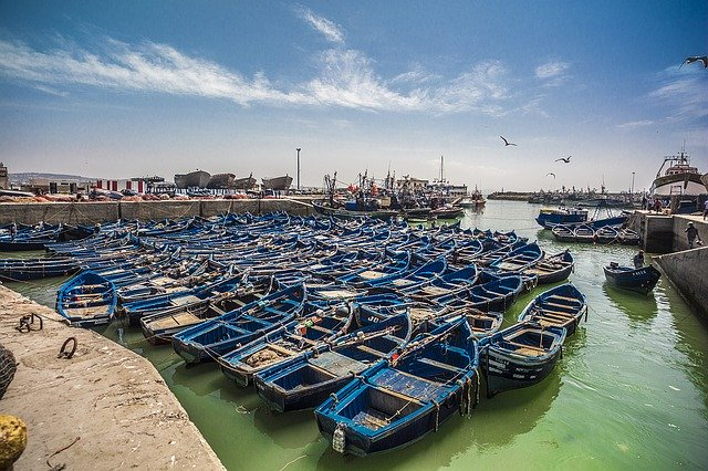 Le port de la ville marocaine Essaouira