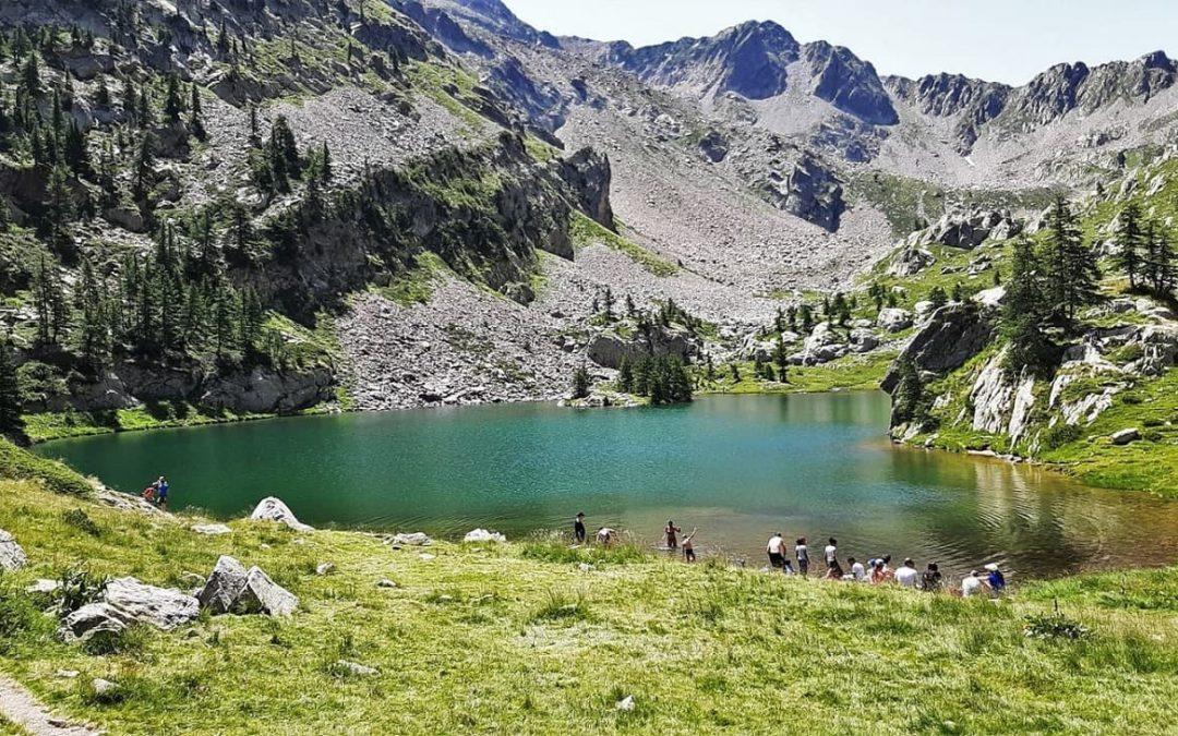 Le Lac de Trécolpas